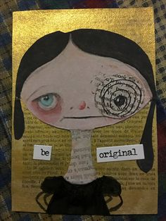 Artist Trading Card I made