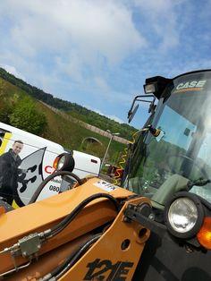 """Unser Mobilmonteur aus Aschaffenburg beim """"großen"""" Ausseneinsatz…"""