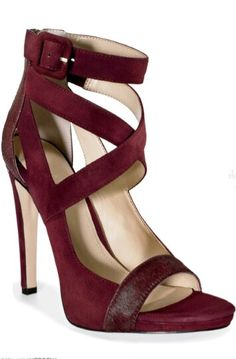 42 Burgundy Shoes For Your Perfect Look This Winter Women shoes Hot Shoes, Shoes Heels, Heeled Sandals, Stilettos, Christian Louboutin, Burgundy Shoes, Pretty Shoes, Wedding Shoes, Me Too Shoes