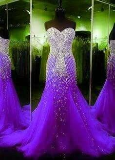 Newest Empire Waist Royal Blue Beading Long Prom Dresses,Charming Sweep Train Wedding Dresses,Sweetheart Wedding Gowns,Evening · Happybridal · Online Store Powered by Storenvy Prom Girl Dresses, Purple Bridesmaid Dresses, Purple Dress, Purple Formal Dresses, Purple Gowns, Wedding Bridesmaids, Wedding Gowns, Purple Love, All Things Purple