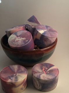 In the pot swirl handmade soap