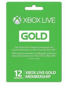 Microsoft Xbox LIVE 12 Month Gold Membership - BEST GAMING CARD, (See BELOW!) #Microsoft