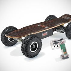 - Dirt Rider Electric Skateboard by EMAD