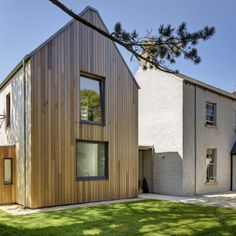 Kilternan - dermot bannon architects House Designs Ireland, Farmhouse Renovation, Modern Barn, House Tours, House Plans, New Homes, Cottage, Exterior, Architects