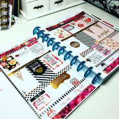 This weeks spread in my MAMBI happy planner. Still feeling the dots and stripes this week! The majority of the supplies I used are from MAMBI- the washi tape and quote and gold foil stickers. The other stickers are from Jamison Reid designs which are actually made for the Erin condren planner but I'm a rebel #happy planner #mambihappyplanner #mambiplanner #mambi #mambistickers #meandmybigideas #planner #plannerlove #plannergeek #washi #stickers #planneraddict #plannergirl #plannerlayout…