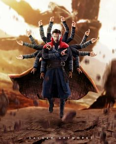 Wow! Doctor Strange in infinity war