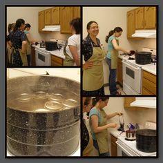 Water Bath Canning Cheat Sheet