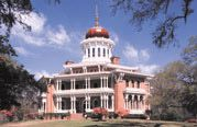 Longwood Historic Home Natchez MS.  Just one of the many beautiful antebellum homes open to tour.
