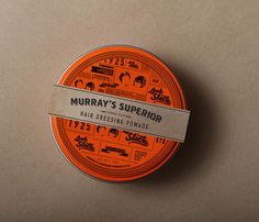 Student Spotlight: Murray's Superior Hair Dressing Pomade — The Dieline - Package Design Resource