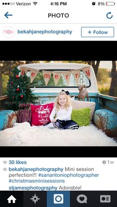 Blanket, truck, banner, tree. This could work
