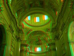 Cathedral 3D Anaglyph by yellowishhaze