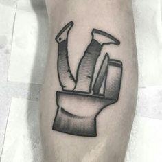 Trainspotting toilet scene tattoo