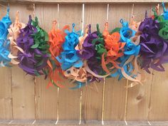 Pout Pout Curly Tassel Garland