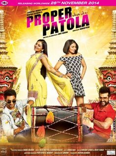 Proper Patola is an Punjabi Romantic comedy film directed by Harish Vyas. The film has an ensemble cast which includes Neeru Bajwa, Harish Verma, Yuvraj Hans & others.Written & co directed by amit saxena.The film will be distributed by OmJee Cineworld.