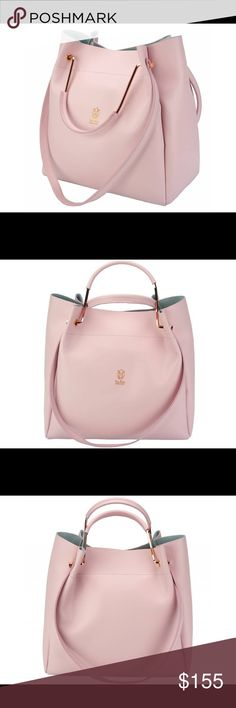 7519c6ba8e LEATHER HANDBAG MADE IN ITALY Brand new, never used beautiful pink leather  bag. Made in Florence, Italy. Comes with dust cover. Bags Shoulder Bags