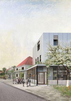 Raamwerk . new Library . Sint Martens Latem (1)