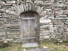Gatehouse Arrow Slit Criccieth Castle Gwynedd Cymru Uk