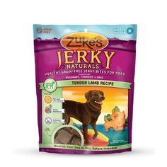 Zuke's Jerky Naturals Healthy Grain Free Treats for Dogs - Reward your dog every day with nutritious Jerky Naturals; each meaty bite is filled with healthy goodness—real meat, carrots, blueberries, apples, and antioxidant-rich herbs.