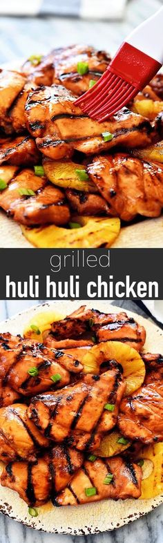 I quickly want to address something before I share this amazing GRILLED HULI HULI CHICKEN! I cant even tell you how in-love I am with this recipe but first I need to talk about comments. I was just reading through over 100 comments I needed to approve Huli Huli Chicken, Turkey Recipes, Meat Recipes, Cooking Recipes, Healthy Recipes, Zoodle Recipes, Recipies, Tagine Recipes, Vegetarian Recipes