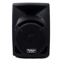 Podium Pro PP810 PA DJ Karaoke 250-watt Two-way ABS Plastic Speaker