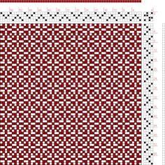 Franz Donat | page 191: figure 16: Large Book of Textile Designs | Germany | c. 1895 | 4-shaft, 4-treadle