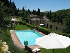 Typical Pool in Tuscany