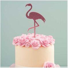 Sugar Crafty | Flamingo Glitter Acrylic Cake Topper | Flamingo Party Theme & Supplies 21 Party, Luau Party Supplies, Online Party Supplies, Flamingo Party, 30 Birthday Cake, Birthday Candles, Hawaiian Luau Party, Acrylic Cake Topper, Perfect Party