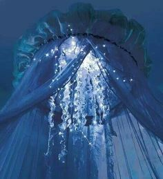 Every little Mermaid needs a jellyfish bed canopy. http://www.amazon.com/gp/aw/d/B00CO7EQM0/ref=redir_mdp_mobile?ref_=cm_sw_r_udp_awd_qocftb0KC3AX1 https://www.the2tails.com