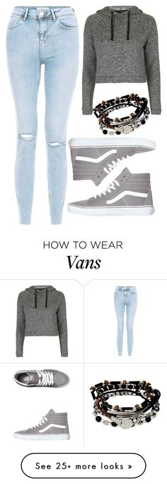 """Top #81"" by deedee-pekarik on Polyvore featuring Topshop, Vans and Kenneth Cole"