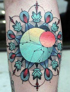 Makandaxu: Tatuajes: geometricos, geometrizados, puntillismo y reticulares