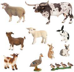 Schleich World of Nature Farm Animals Series 3 - Free Shipping