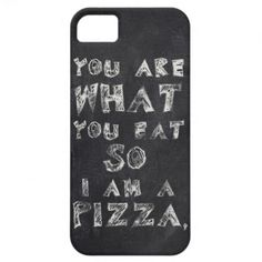 I am a pizza iPhone 5 case