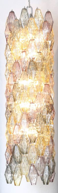Table lamp with Liberty style lamp shades lamps - glowing