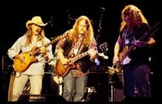 Dickey Betts, warren Haynes and Allen Woody. #allmanbrothers #southernrock Skynyrd.com