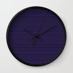 Gothic purple stripes Wall Clock by scardesign. Sale! 15% off this item today! Only $27.19. #purple #lines #pattern #clock #wallclock #goth #gothic #clocks #style #sale #sales #discount #gifts #society6 #homedecor #homegift Purple Striped Walls, Gaming Posters, Nerd Gifts, Yoga Gifts, Kidsroom, Gifts For Him, Clocks, Gothic, Stripes
