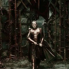 BOFA - Elrond. -- I went crazy when I saw this in the trailer!!! I can't wait to see him fight in the movie!!!