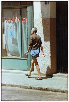 Samuel Beckett in Tangier - photo by Francois-Marie Banier. 1978