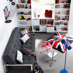 Une chambre d'ado so british trop cool
