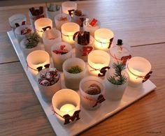 MERRY CHRISTMAS – Lav selv en juledekoration med lysglas og bogstaver…
