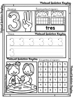 Amigos y compañeros que nos visitan queremos agradecer a Material Didáctico Rayitas por diseñar y compartir con todos nosotros este maravilloso material aprendiendo los números del 1 al 10 enpreescolar y primer grado de primaria donde nuestros pequeños alumnos aprenderán de una manera divertida y creativa los números del 1 al 10, recuerden agradecer al autor del material y recuerden que nosotros solo compartimos el mejor material educativo de la red para su gran aprovechamiento en el aula. Kindergarten Math Activities, Preschool Education, Preschool Curriculum, Preschool Classroom, Preschool Worksheets, Numbers Preschool, Homeschool, Learning Centers, Math Centers