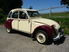 1987 CITROEN 2CV6 DOLLY PLUM AND CUSTARD. Please Jon!