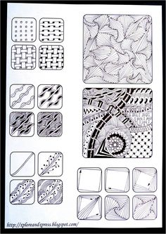 Xplore & Xpress: Zentangle