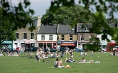 Wandsworth Common, London. I have lived here.