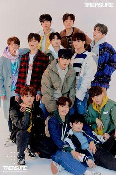 editorial vol 2 Korean Boy Bands, South Korean Boy Band, Yg Entertainment, K Pop, Lirik Lagu Treasure, Hyun Suk, Fandom, Vol 2, Treasure Boxes