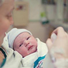 Así vive el parto el bebé