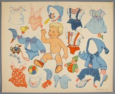 77.5205: paper doll | Paper Dolls | Dolls | National Museum of Play Online Collections | The Strong