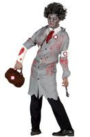 Disfraz de Doctor Zombie adulto