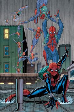 Kinda looks like Ben Reilly's outfit...someone correct me if I am wrong please