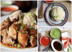 Resep Nasi Ayam Hainan Komplit Dengan 3 Macam Saus Jtt Resep Ayam Resep Makanan Masakan