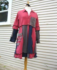 Bohemian Kouture  Upcycled Clothing Cotton by BohemianKouture, $139.00